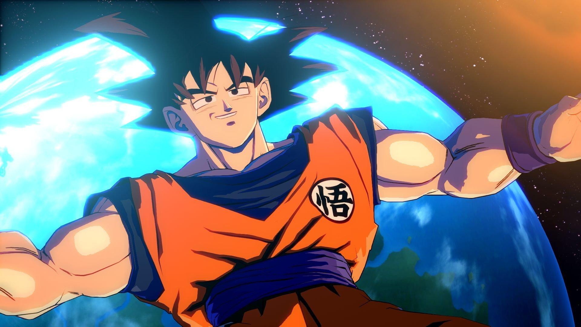 Video Game - Dragon Ball FighterZ  Goku Wallpaper