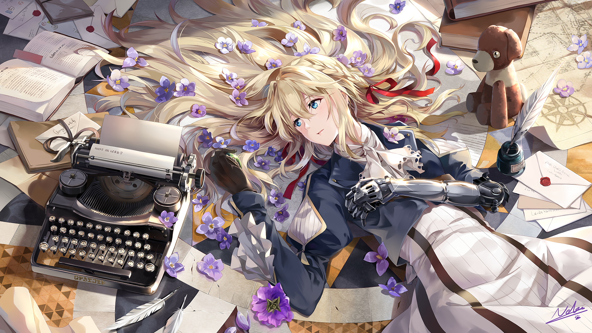 310 violet evergarden character hd wallpapers background images