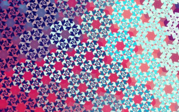 Abstract Fractal Artistic Digital Art Pattern Geometry HD Wallpaper | Background Image