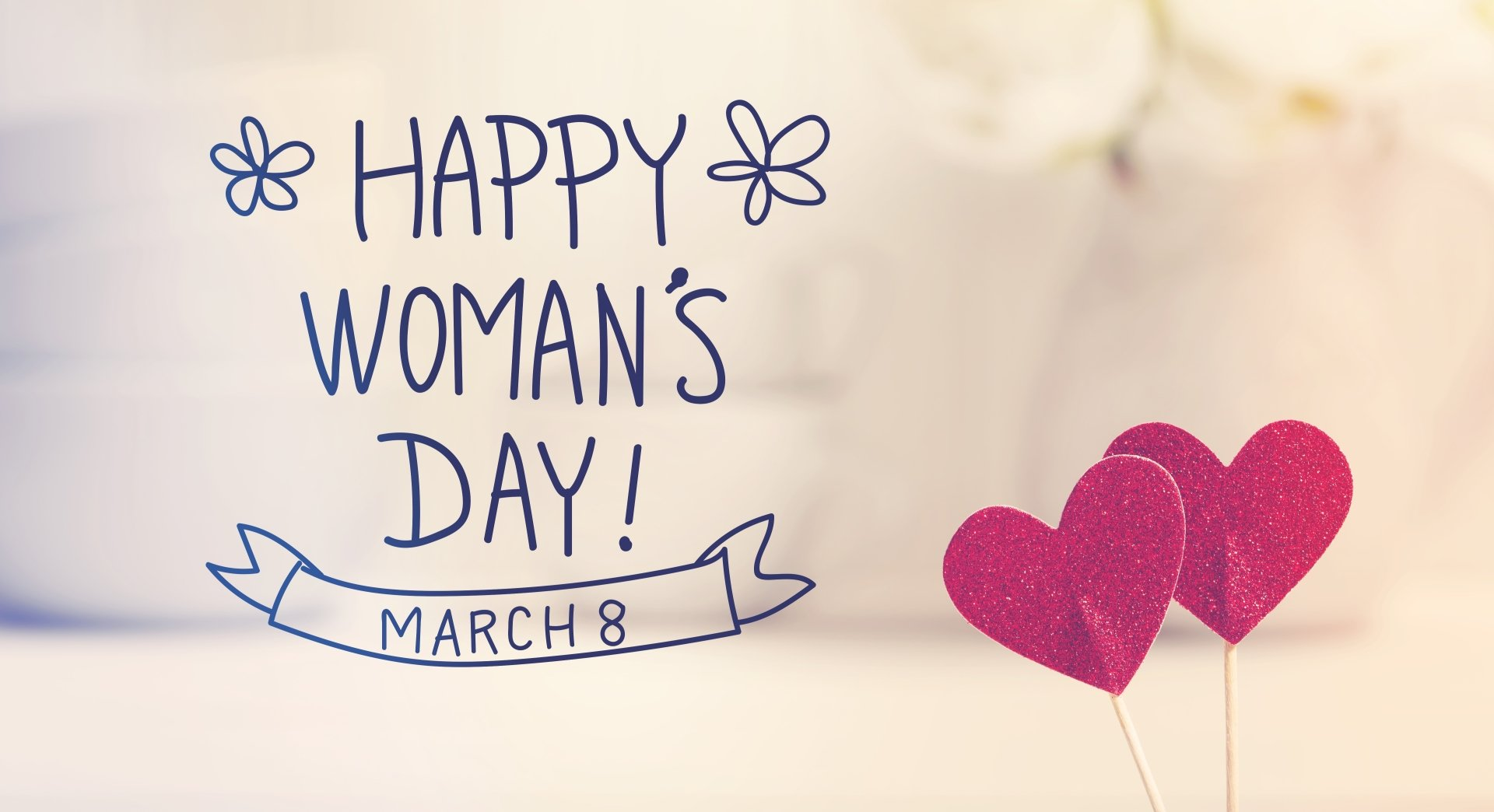 Holiday - Women's Day  Heart Happy Women's Day Wallpaper