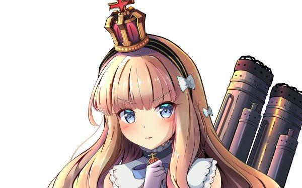 Anime Azur Lane Queen Elizabeth HD Wallpaper   Background Image