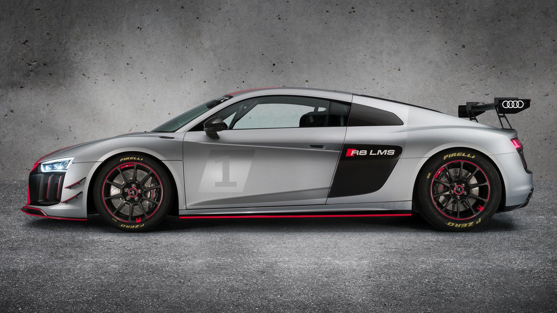 2017 Audi R8 Lms Gt4 Hd Wallpaper Background Image