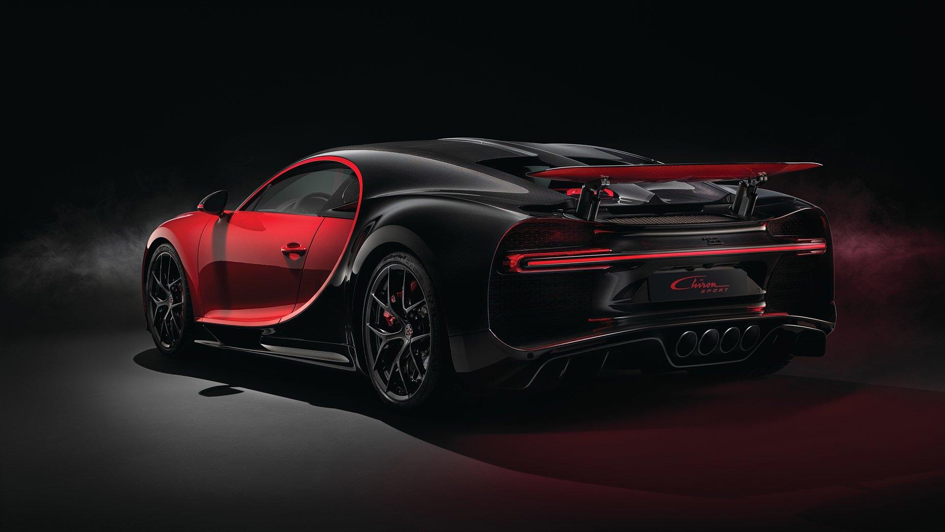 Vehicles - Bugatti Chiron  Bugatti Chiron Sport Sport Car Hypercar Red Car Car Wallpaper