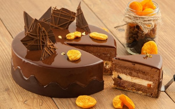 Food Cake Pastry Chocolate Still Life HD Wallpaper | Background Image