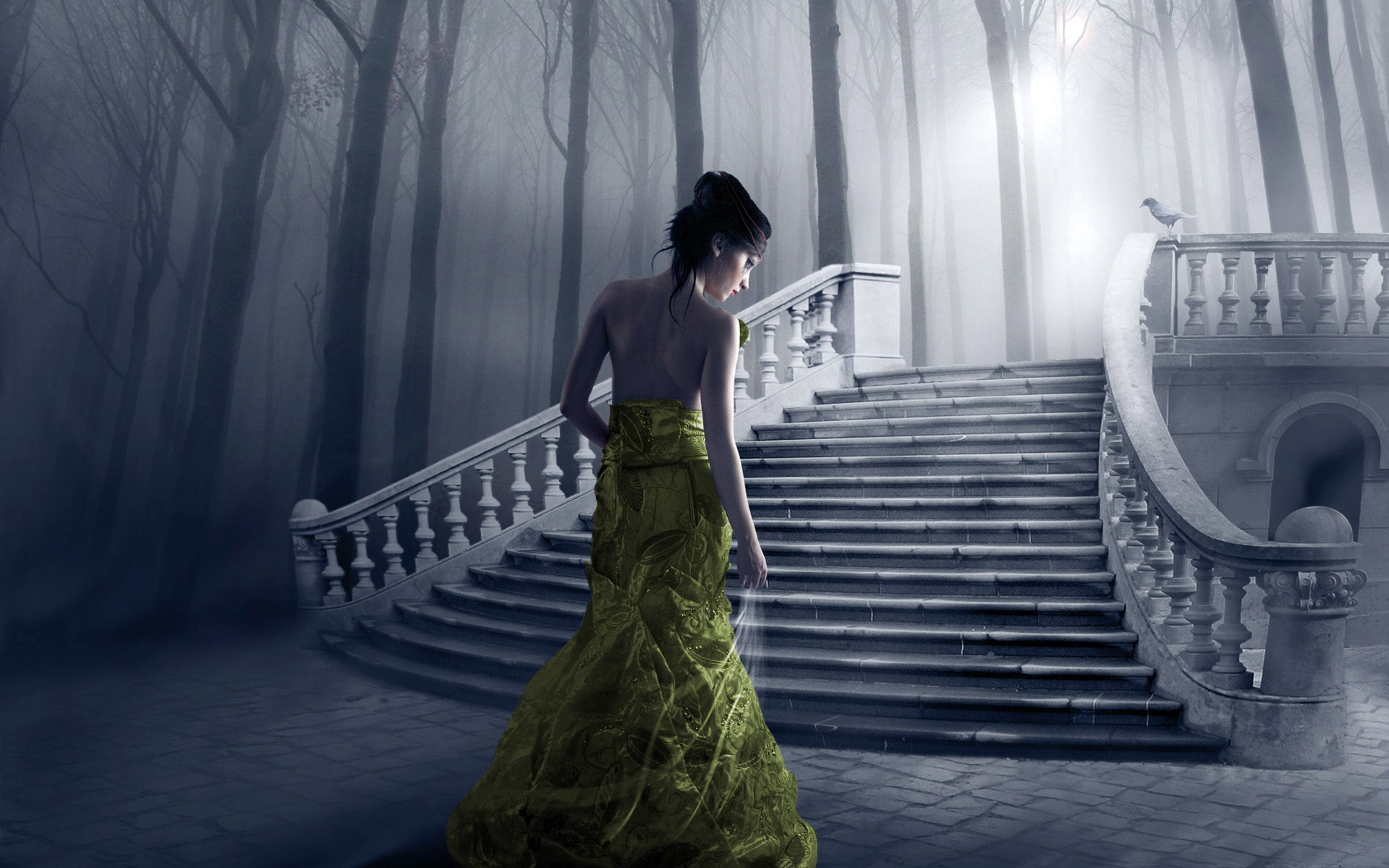 Women - Gothic  Wallpaper