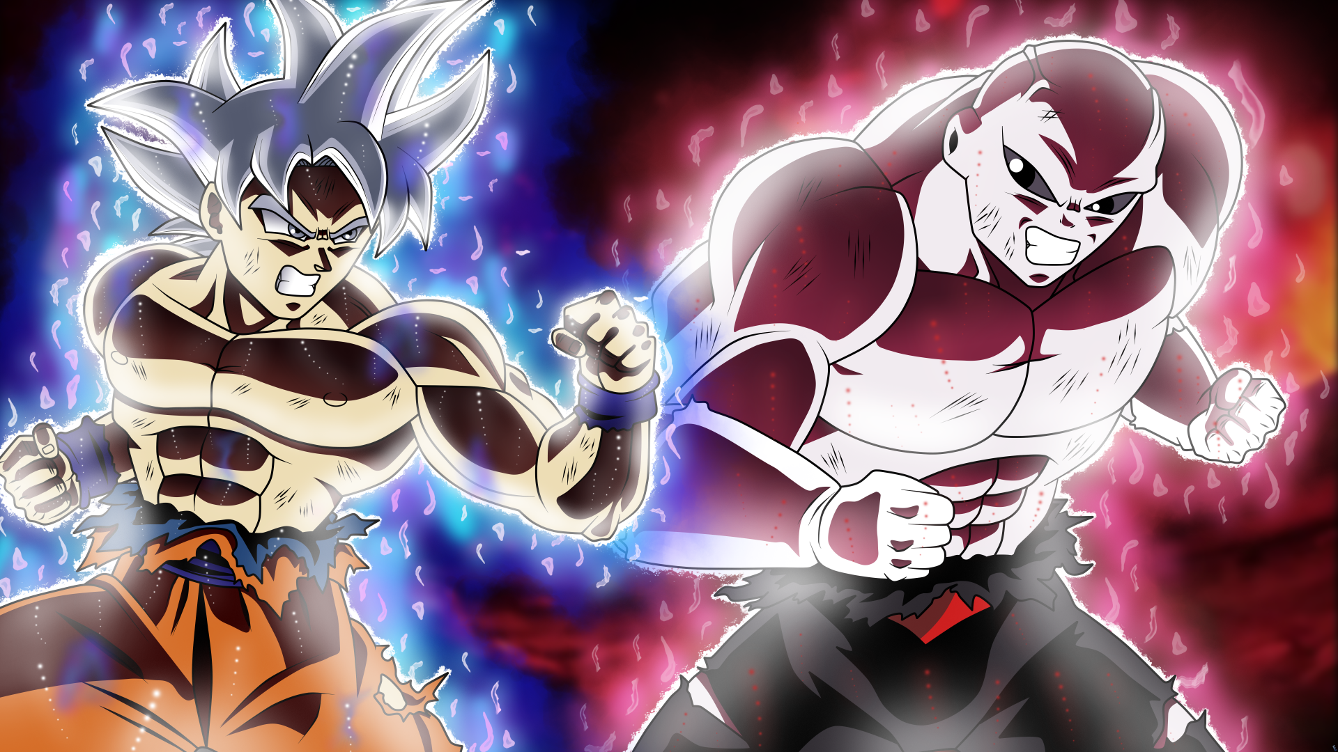 Goku Vs Jiren O 5k Retina Ultra Hd Wallpaper Background Image 5760x3240 Id 909900 Wallpaper Abyss