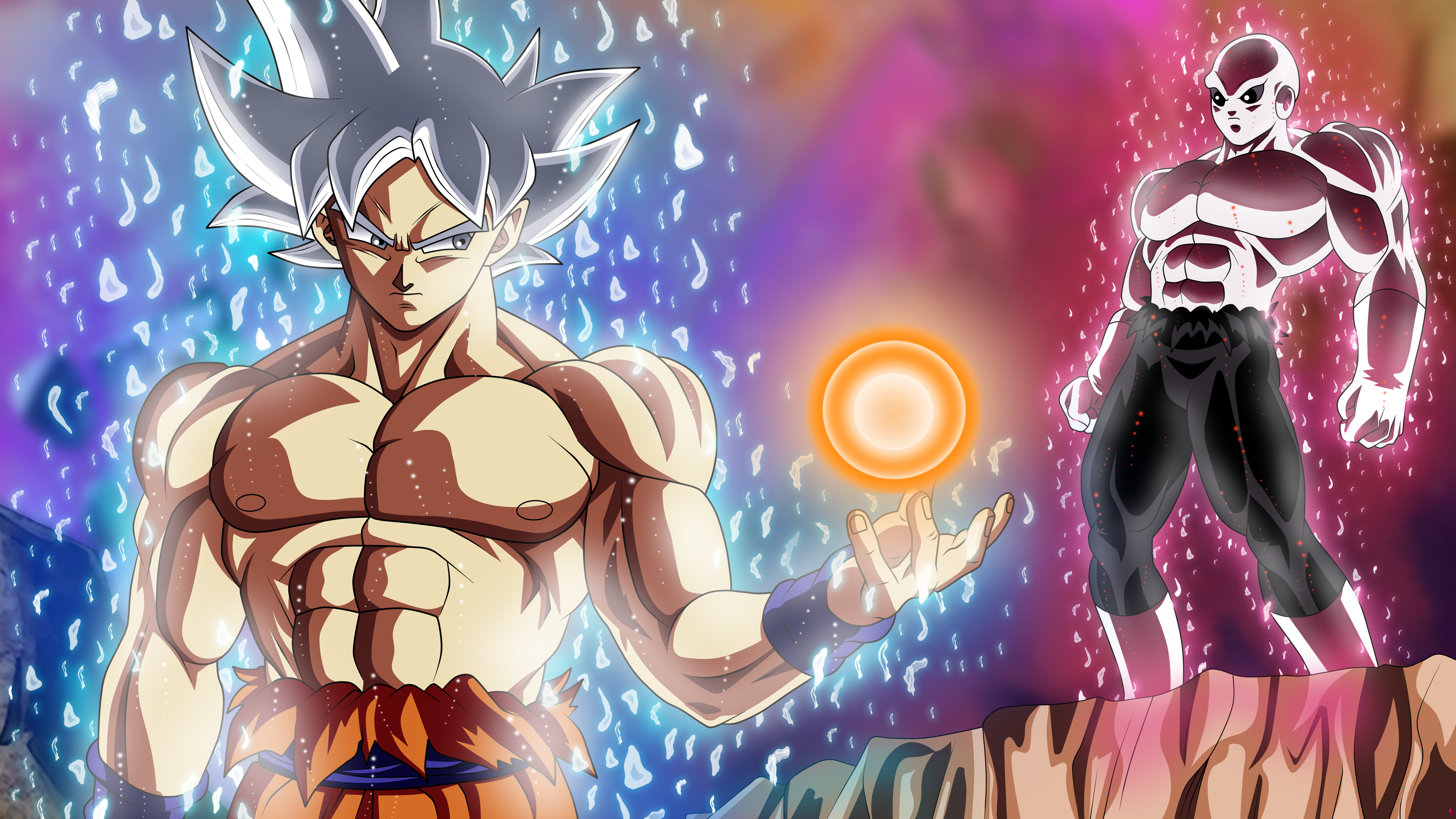 Goku Vs Jiren 5k Retina Ultra Hd Wallpaper Background Image
