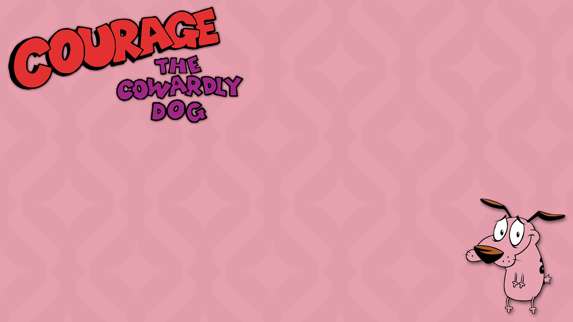 Courage The Cowardly Dog Hd Wallpaper Background Image