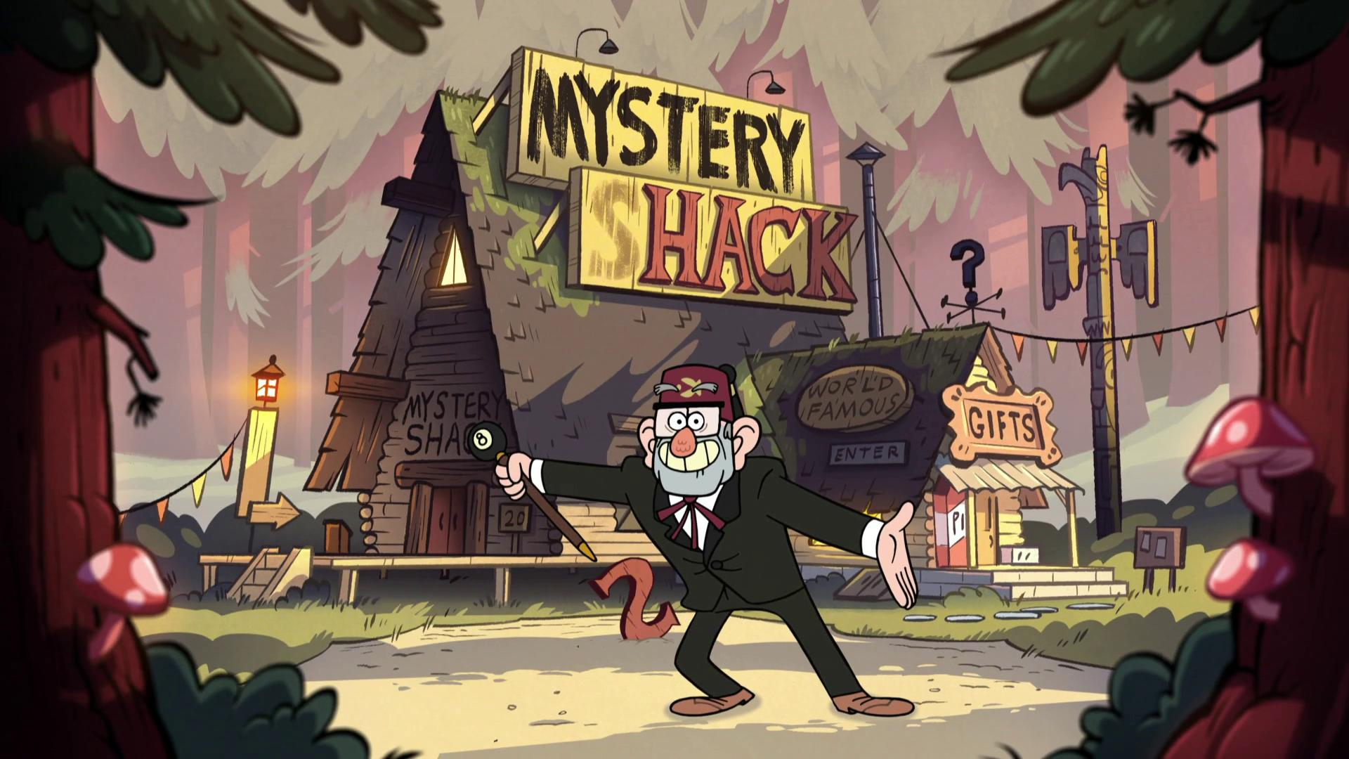 Gravity Falls Full HD Wallpaper And Background Image