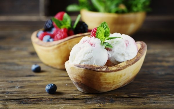 Food Ice Cream Berry Still Life HD Wallpaper   Background Image