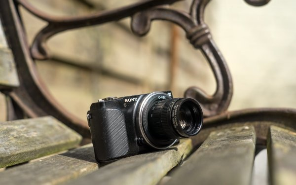 Man Made Camera Close-Up Sony HD Wallpaper   Background Image
