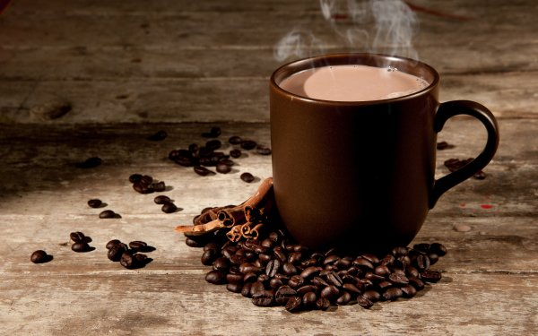 Food Coffee Coffee Beans Still Life Cinnamon Cup HD Wallpaper | Background Image