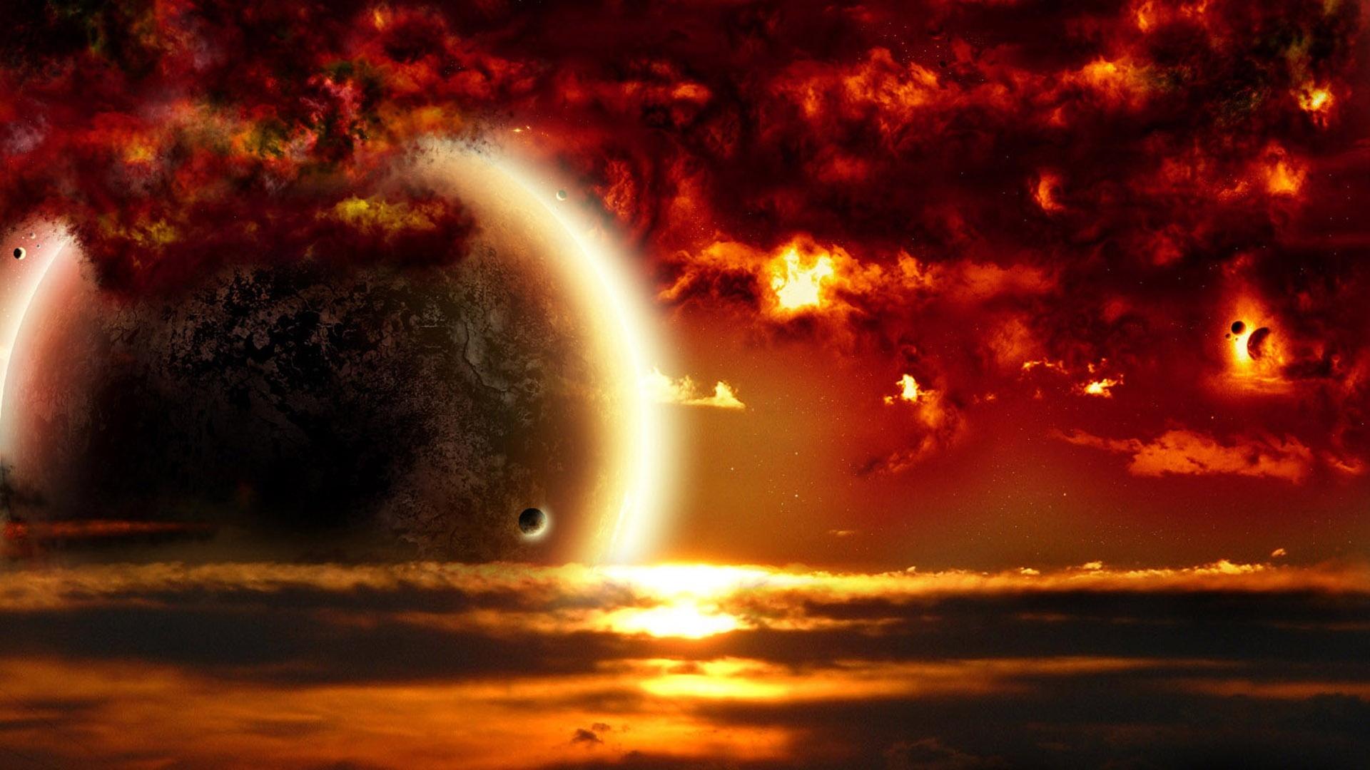 black and orange nebula - photo #29