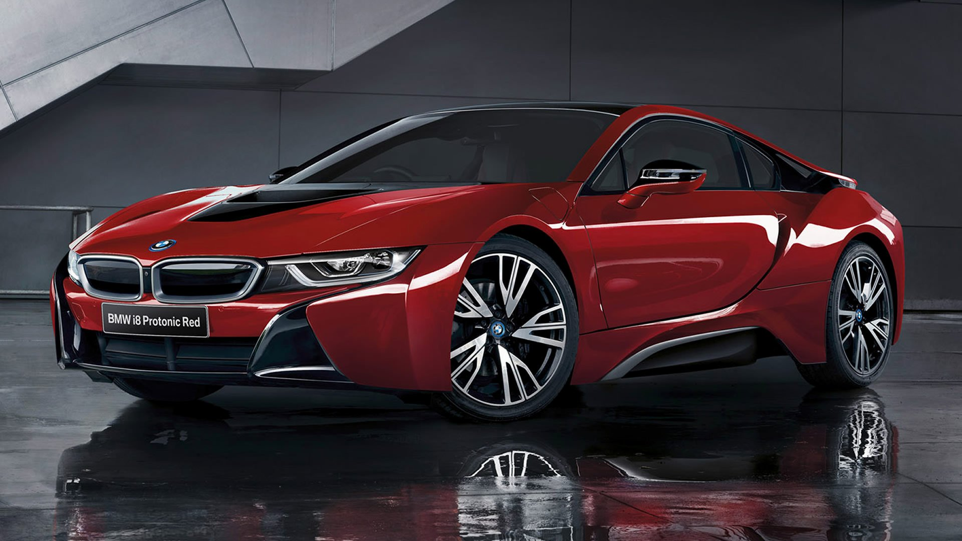 4 Bmw I8 Protonic Red Edition Hd Wallpapers Background Images Wallpaper Abyss