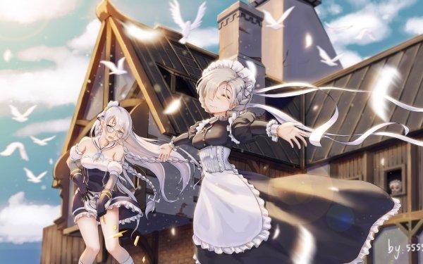 Anime Azur Lane Belfast Edinburgh Sheffield HD Wallpaper | Background Image