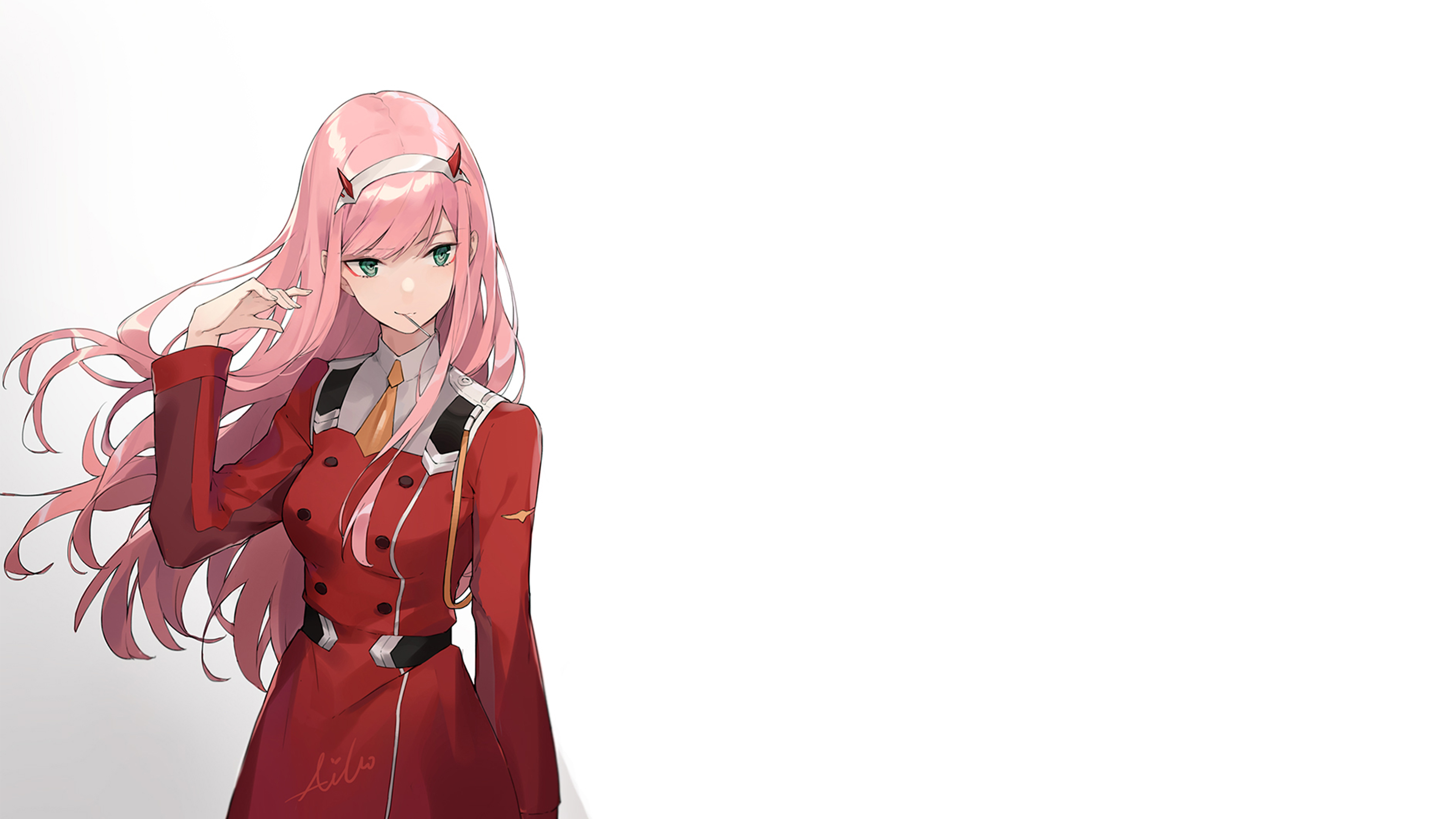 Darling In The Franxx 002 4k Ultra Hd Wallpaper Background