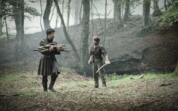 TV Show Game Of Thrones Gendry Arya Stark Joe Dempsie Maisie Williams HD Wallpaper | Background Image