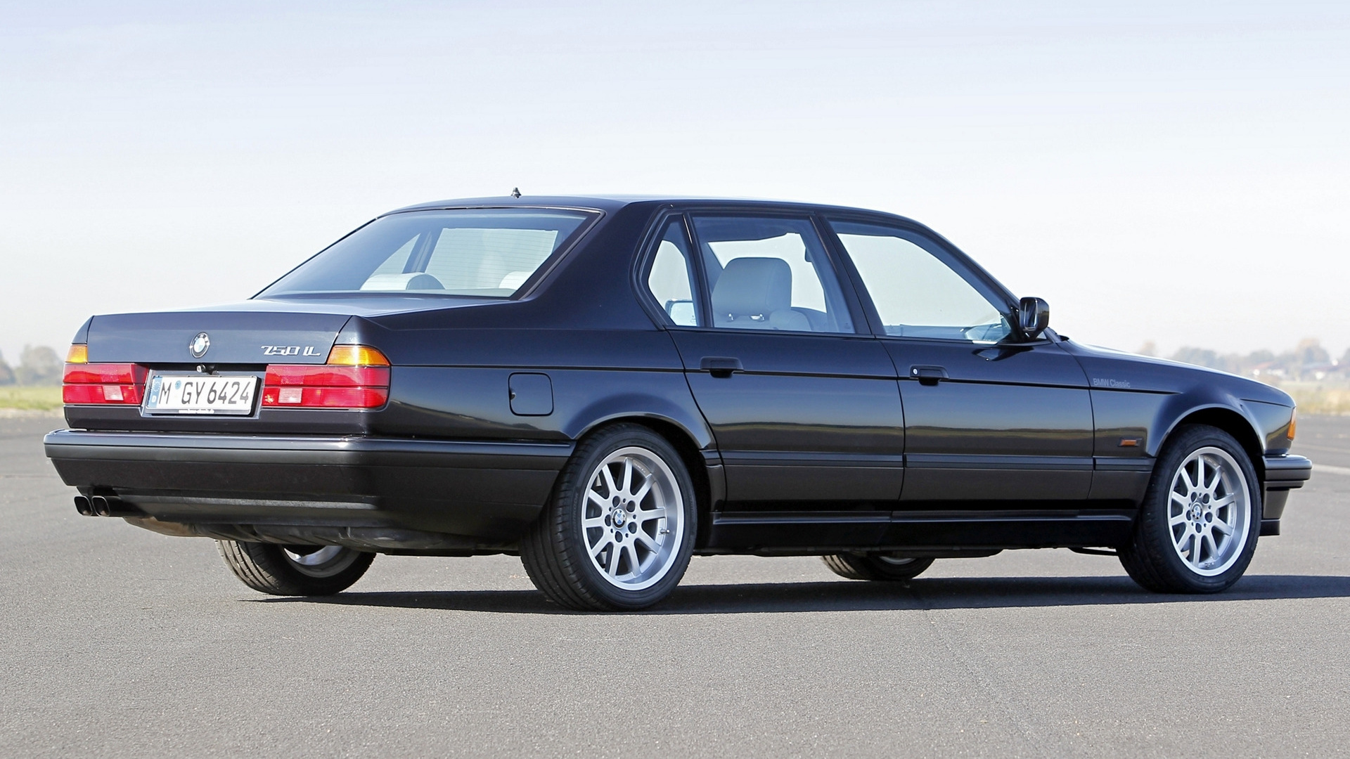 1987 BMW 750iL Full HD Wallpaper and Background Image | 1920x1080 ...