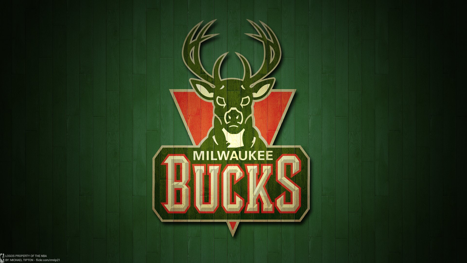 Milwaukee Bucks Basketball Team HD Wallpaper