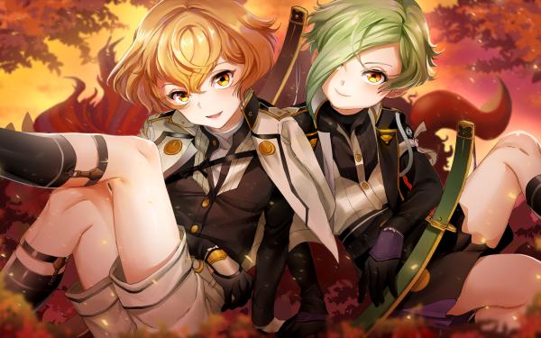 Anime Touken Ranbu Higekiri Hizamaru HD Wallpaper | Background Image