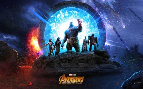 Movie Avengers: Infinity War The Avengers Sci Fi Thanos Marvel Comics Ebony Maw Corvus Glaive Proxima Midnight Cull Obsidian HD Wallpaper | Background Image