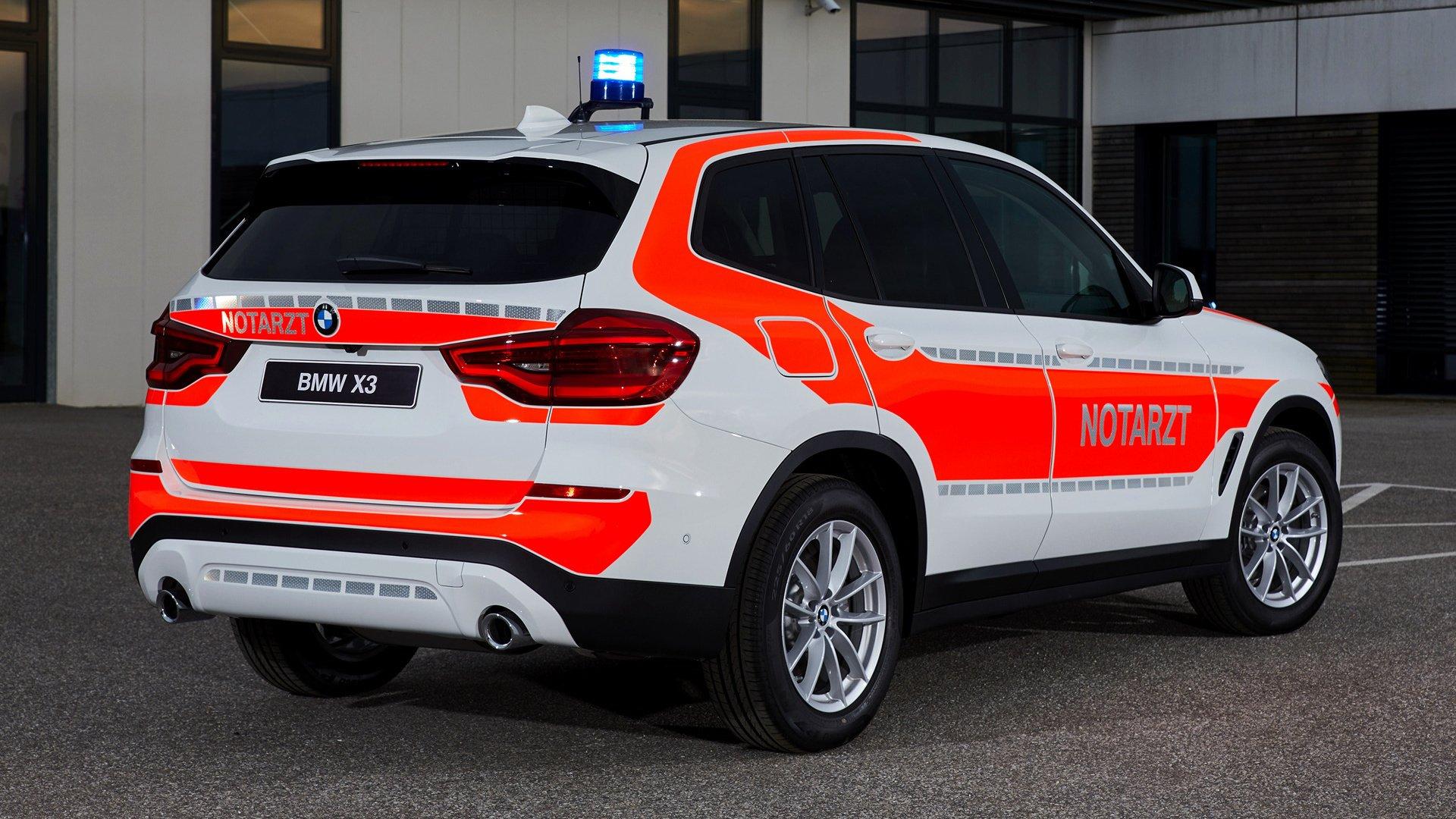 2018 BMW X3 Notarzt HD Wallpaper | Background Image ...