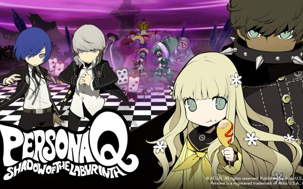 Video Game Persona Q: Shadow of the Labyrinth Persona HD Wallpaper | Background Image