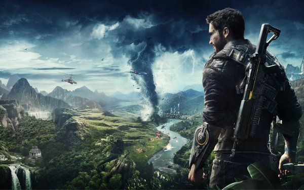 Video Game Just Cause 4 Just Cause HD Wallpaper   Background Image