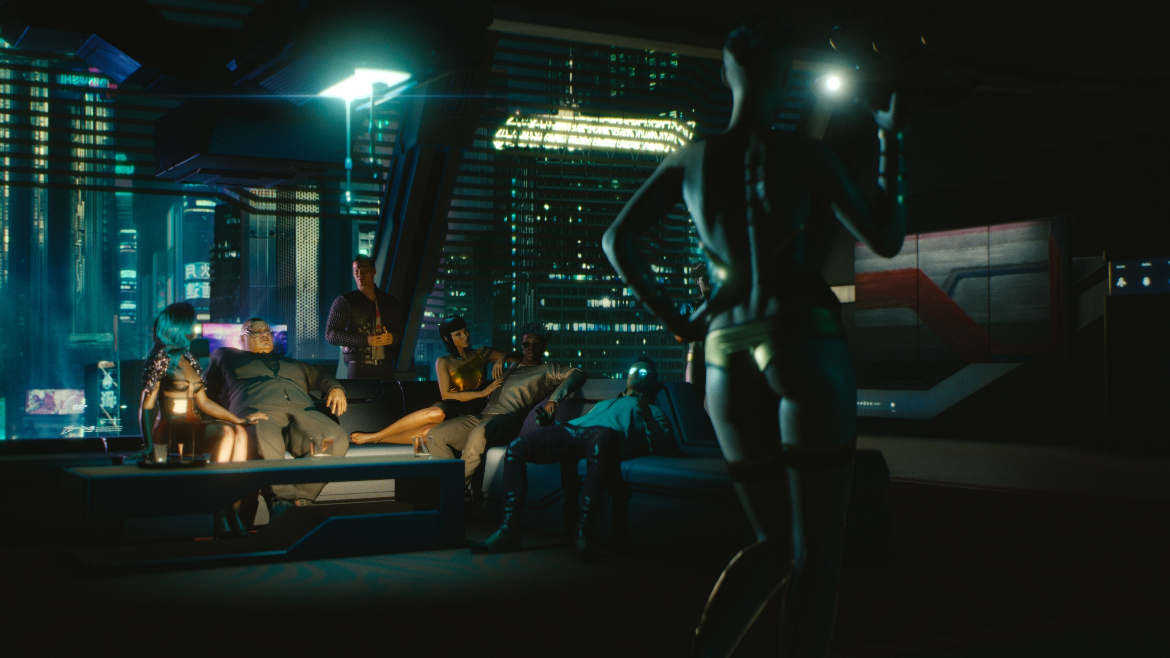 Cyberpunk 2077 4k Ultra Fond Décran Hd Arrière Plan 3840x2160