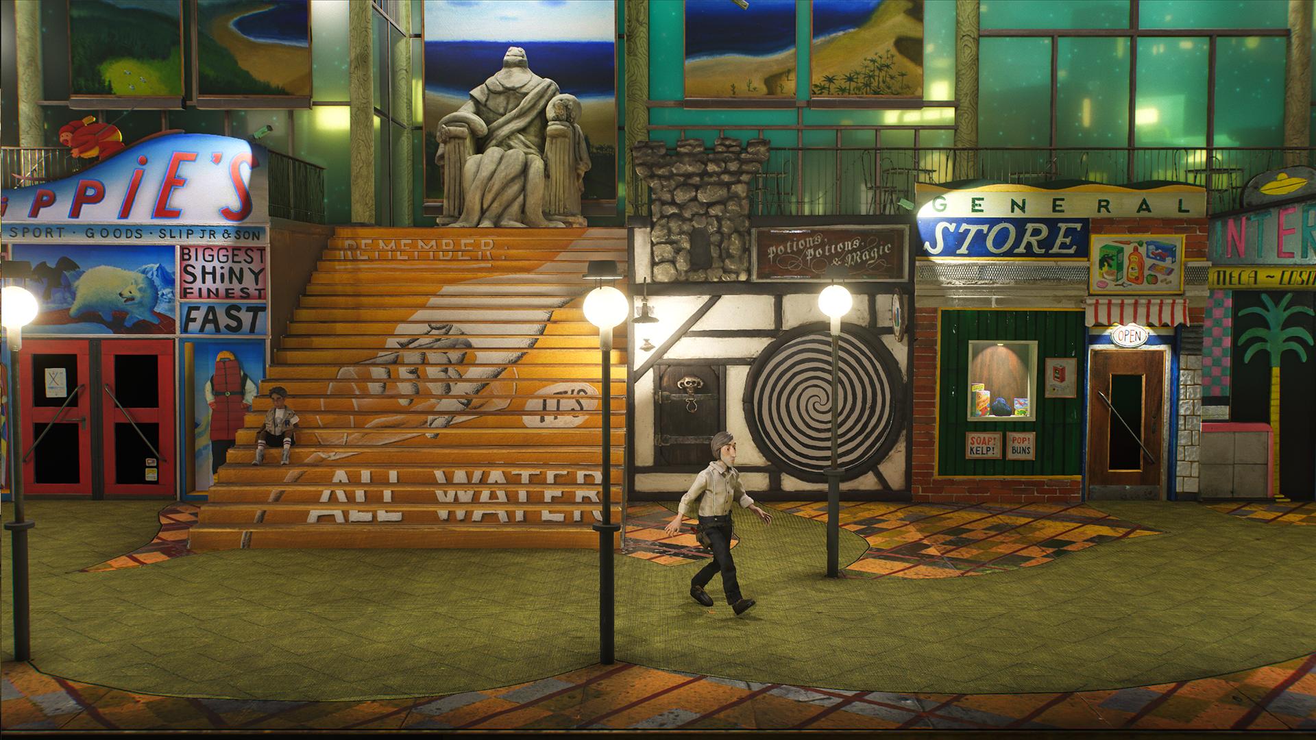 Video Game - Harold Halibut  Wallpaper