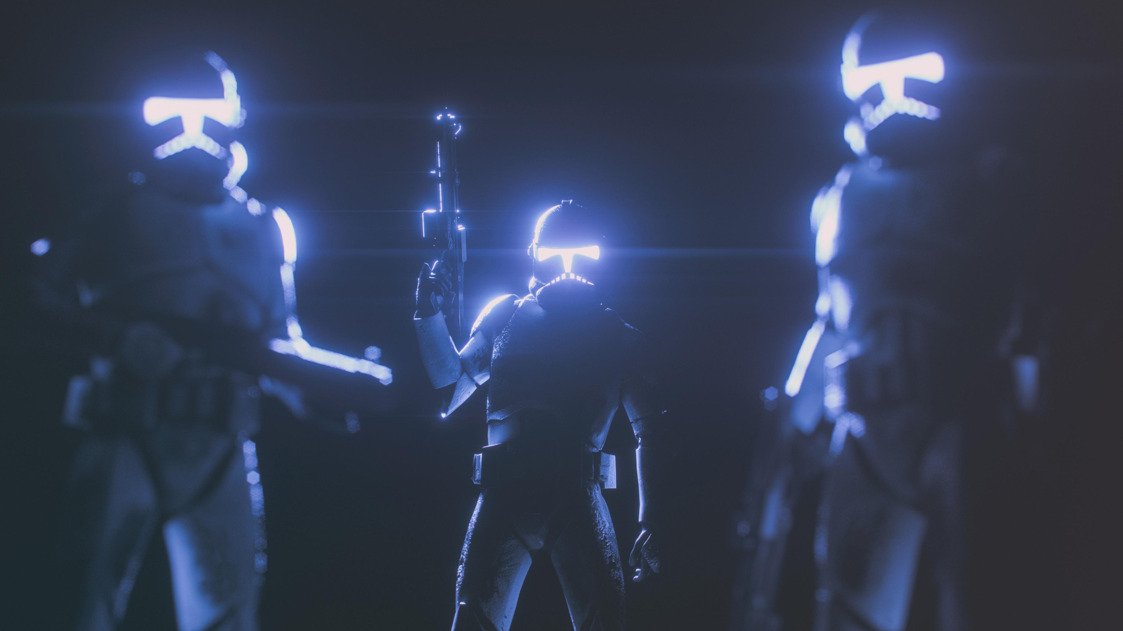 Clones Squad 4k Ultra Hd Wallpaper Background Image 3840x2160 Id 928185 Wallpaper Abyss