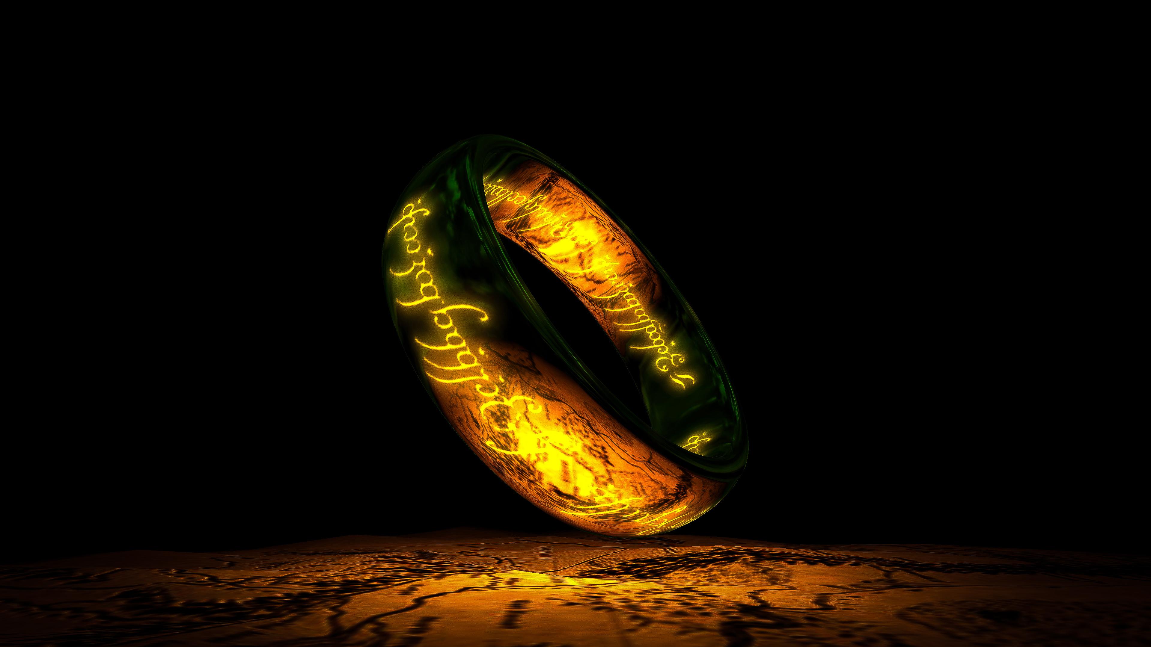 The One Ring 4k Ultra Fondo De Pantalla Hd Fondo De