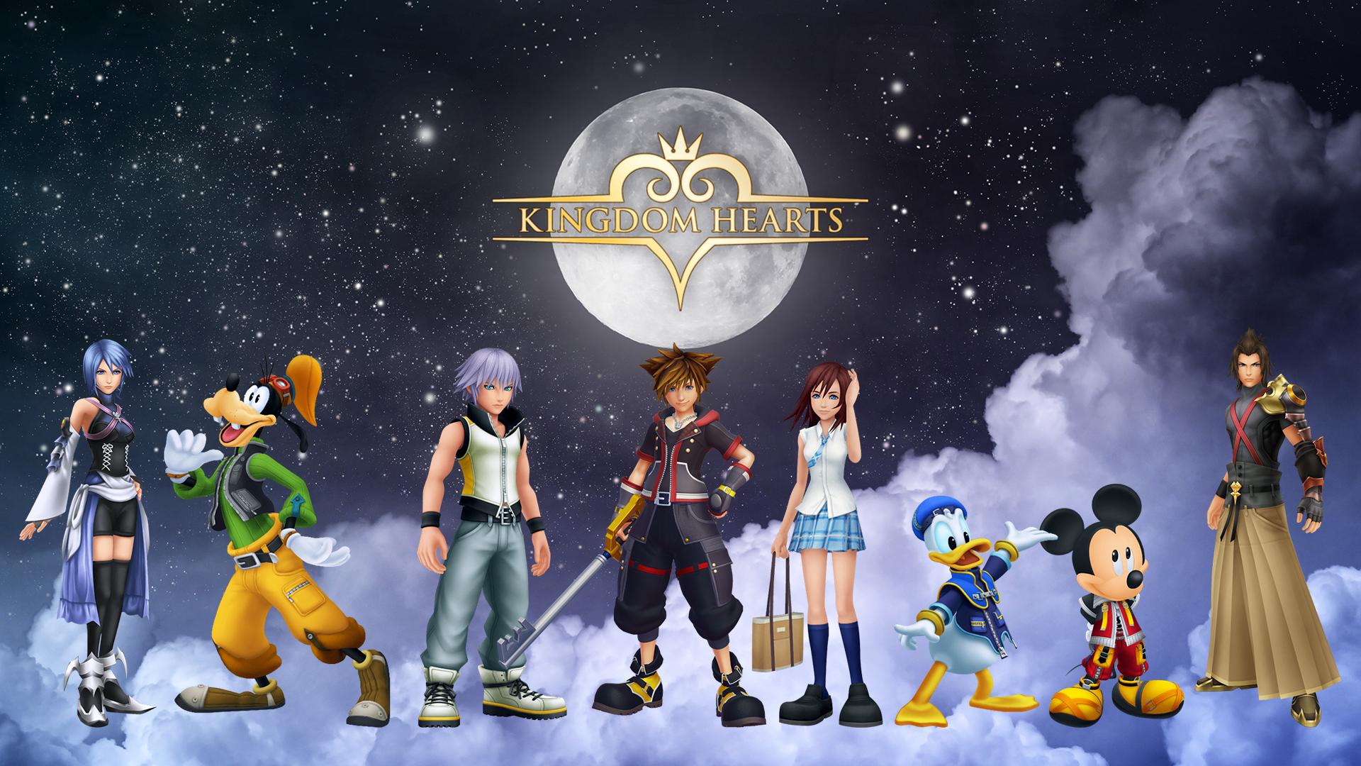 Kingdom Hearts Wallpaper By Denisninja 06 Hd Wallpaper Hintergrund