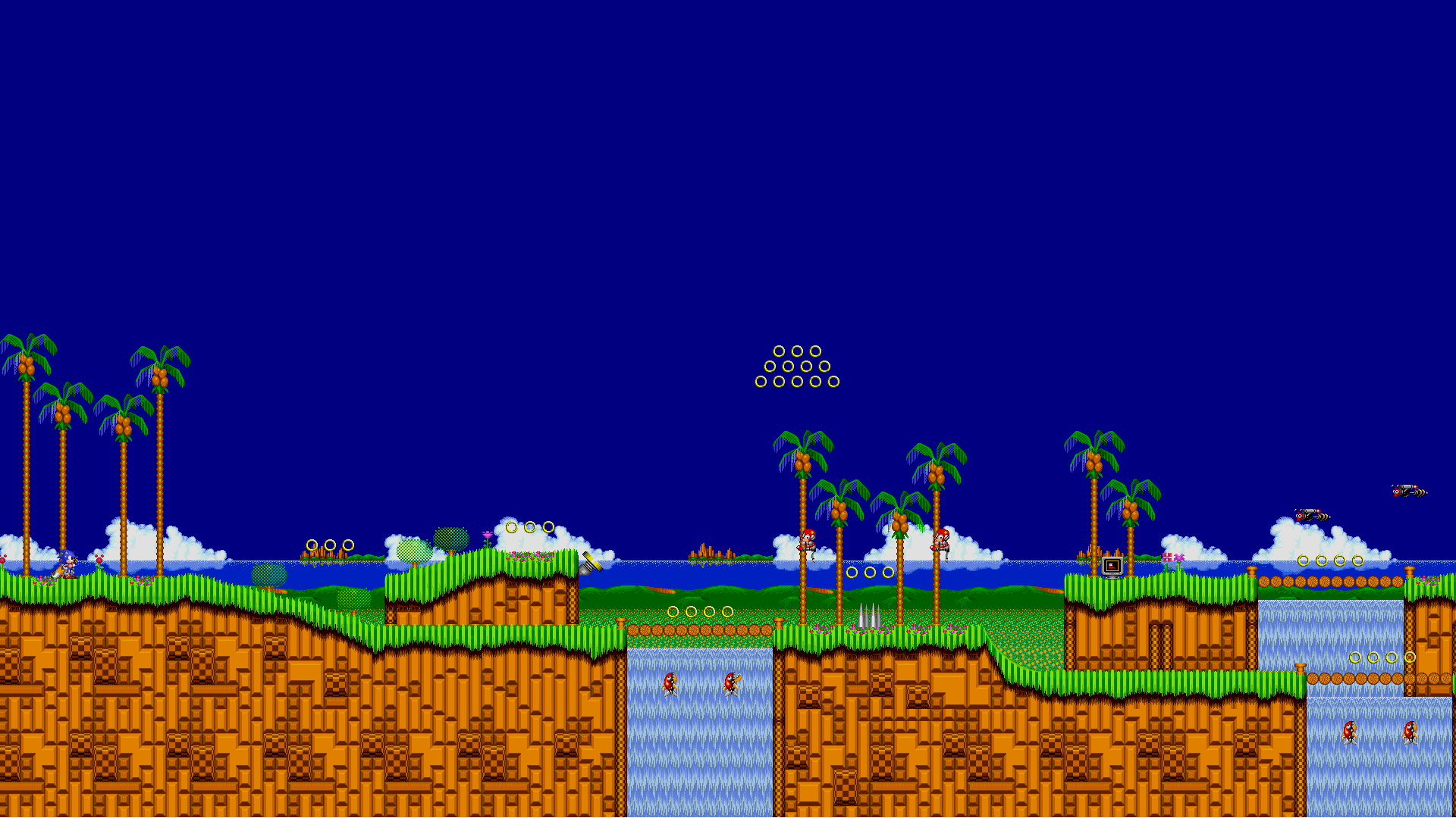 Emerald Hill Zone Hd Wallpaper Background Image 1920x1080 Id 929519 Wallpaper Abyss