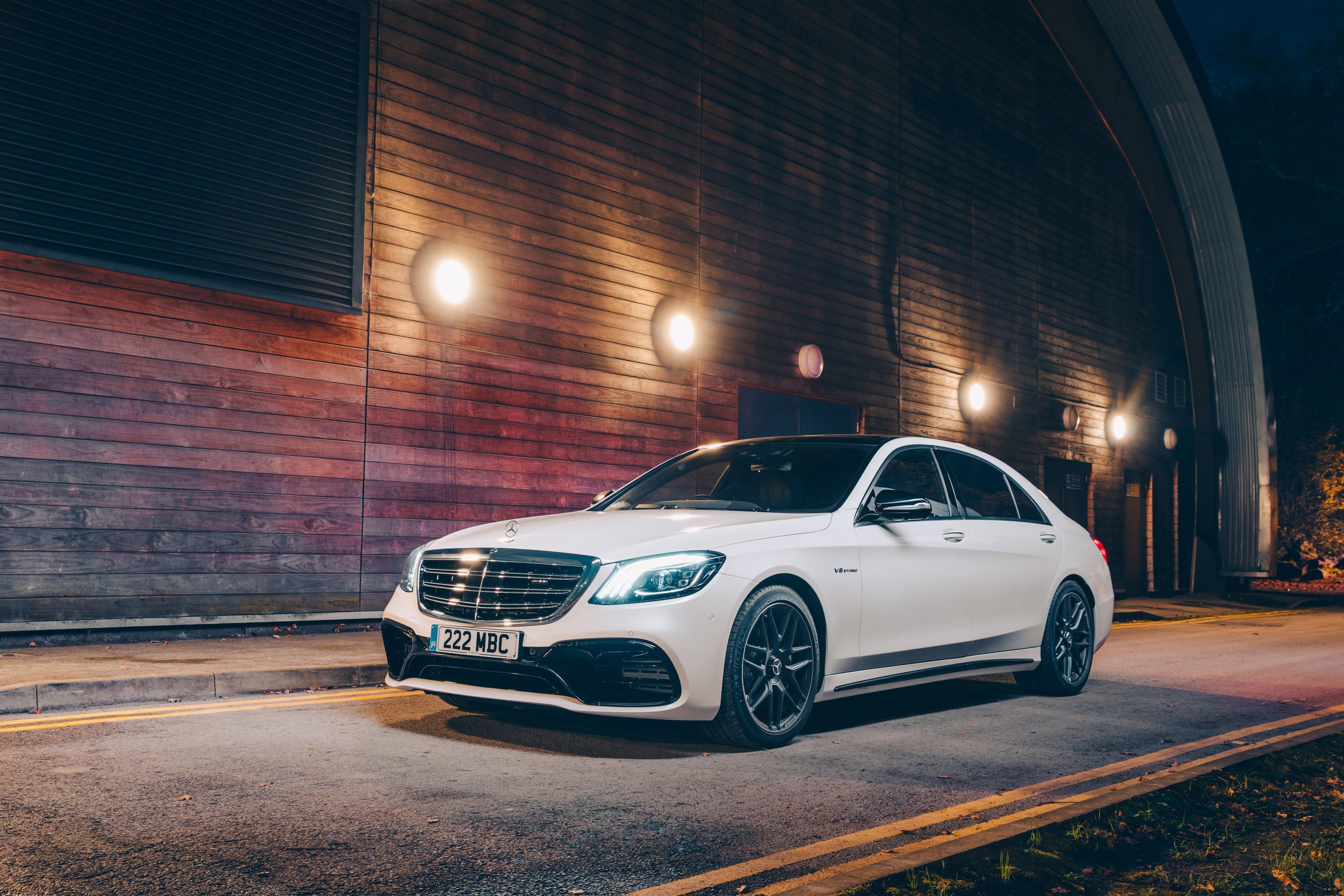 Mercedes Benz Clase S 4k Ultra Fondo De Pantalla Hd Fondo