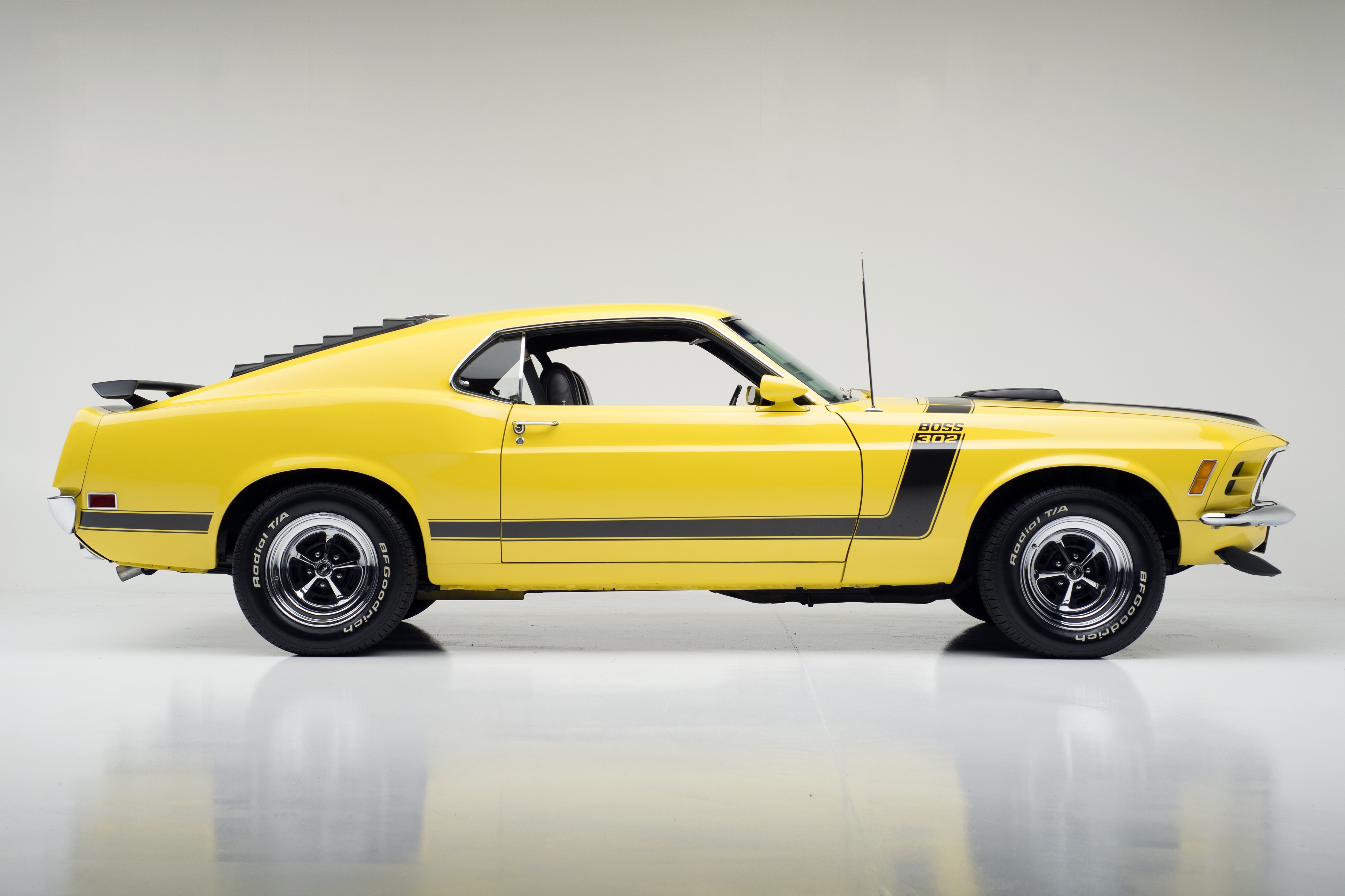 1970 Ford Mustang Boss 302 4k Ultra Hd Wallpaper Background Image