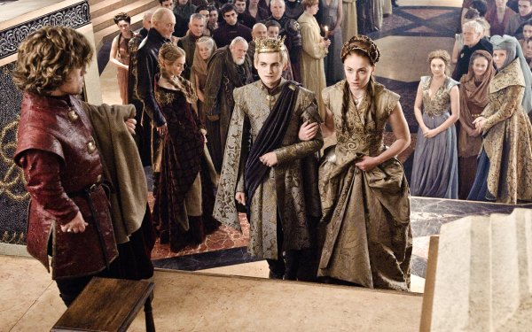 TV Show Game Of Thrones Tyrion Lannister Cersei Lannister Tywin Lannister Pycelle Joffrey Baratheon Sansa Stark Margaery Tyrell Olenna Tyrell Lord Varys HD Wallpaper | Background Image