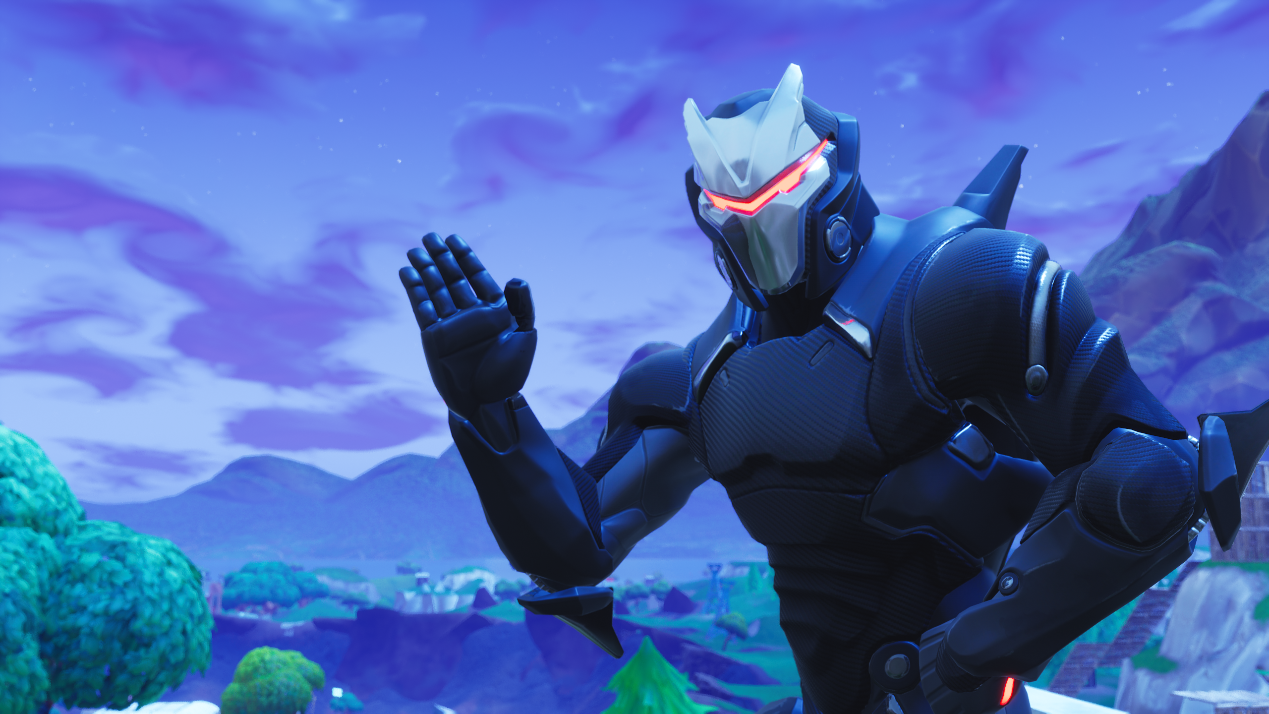 Fortnite Omega Wallpaper Hd обои фон 2560x1440 Id