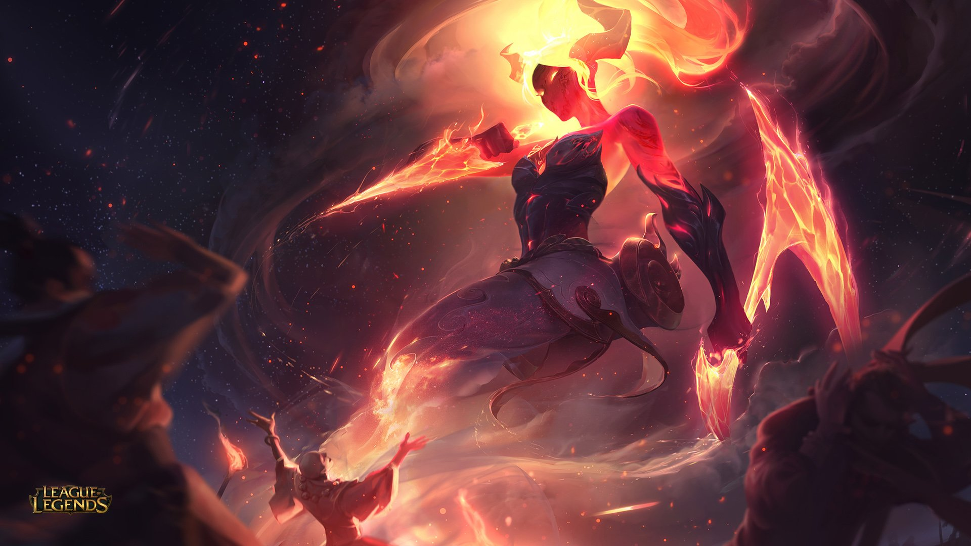 Infernal Akali Hd Wallpaper Hintergrund 1920x1080 Id934769