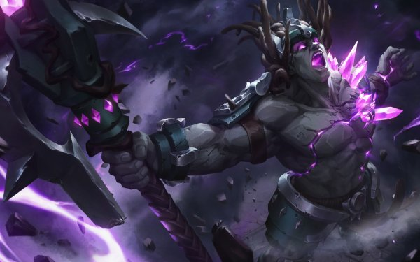 Video Game Paladins Terminus Warrior Axe Crystal HD Wallpaper   Background Image