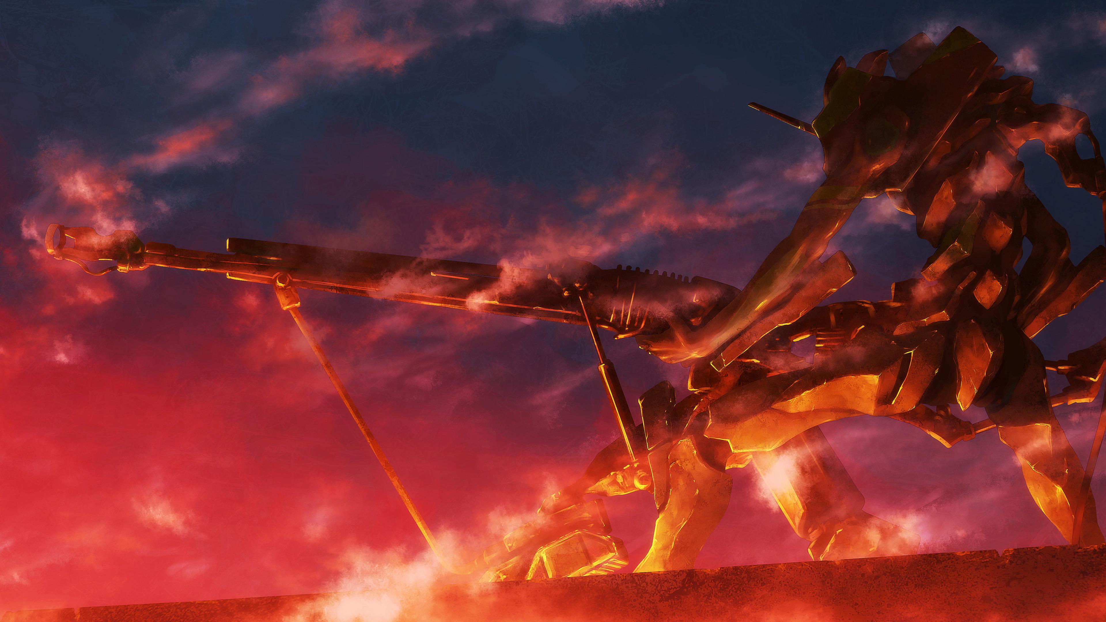 Neon Genesis Evangelion 4k Ultra HD Wallpaper | Background ...