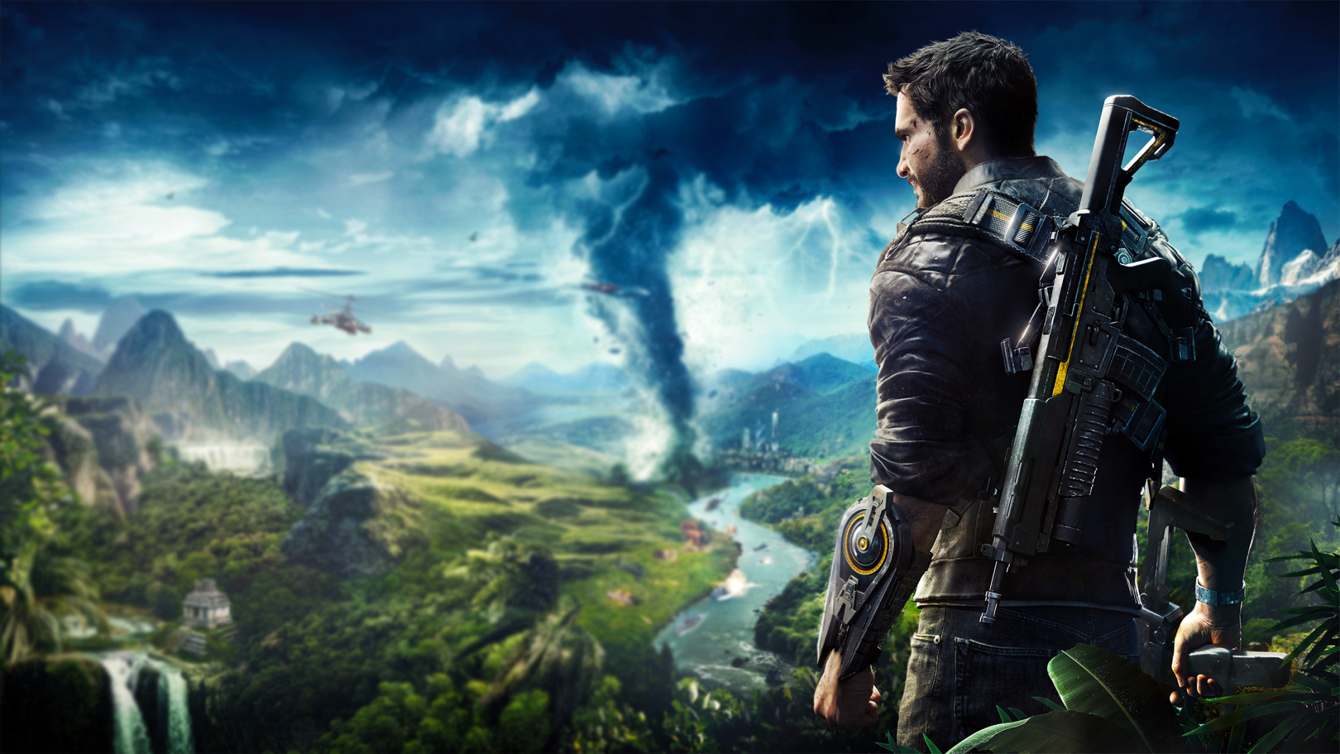 Video Game - Just Cause 4 Rico Rodriguez (Just Cause) Video Game Wallpaper