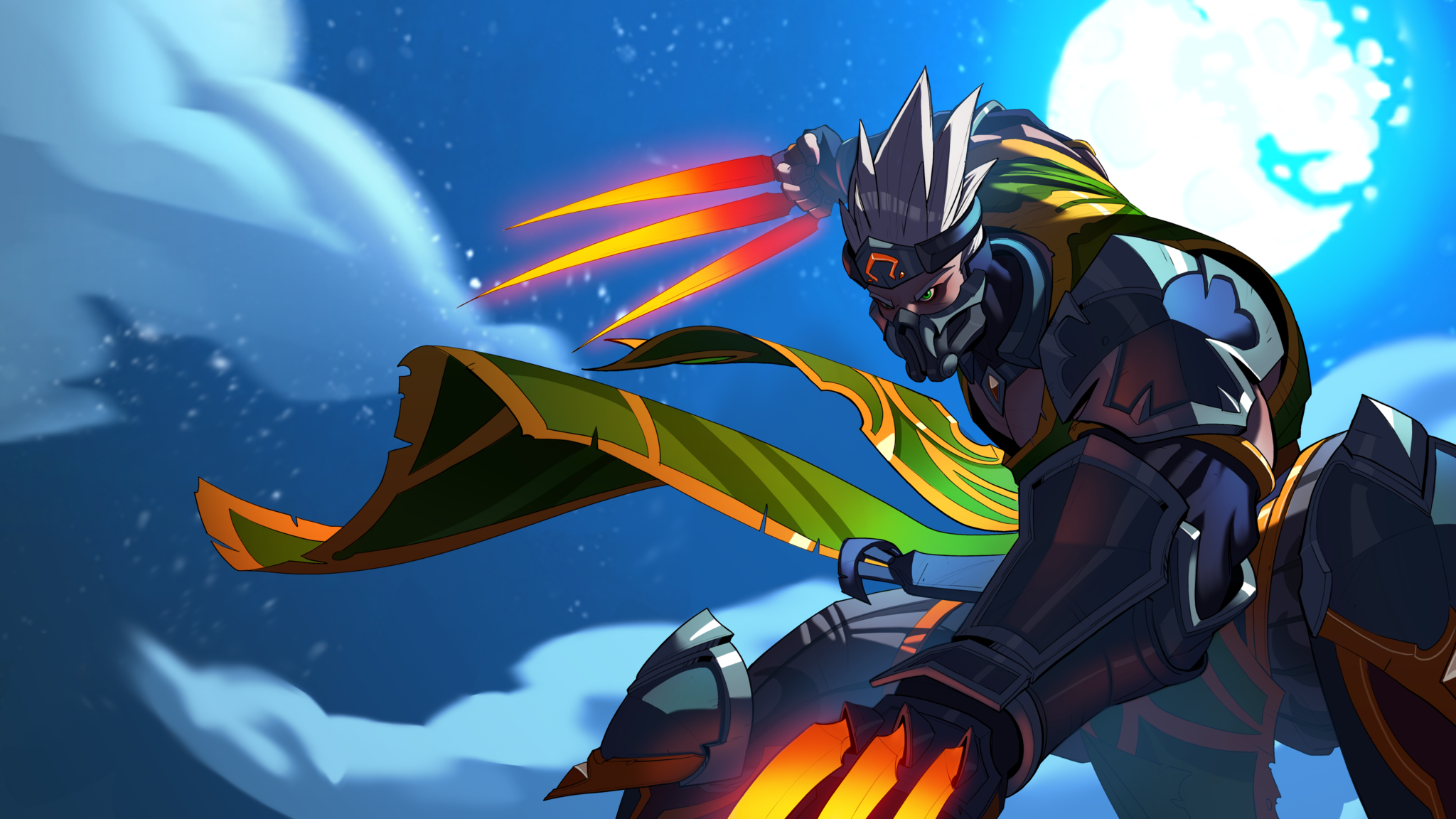 Paladins Koga Hd Wallpaper Background Image 2048x1152