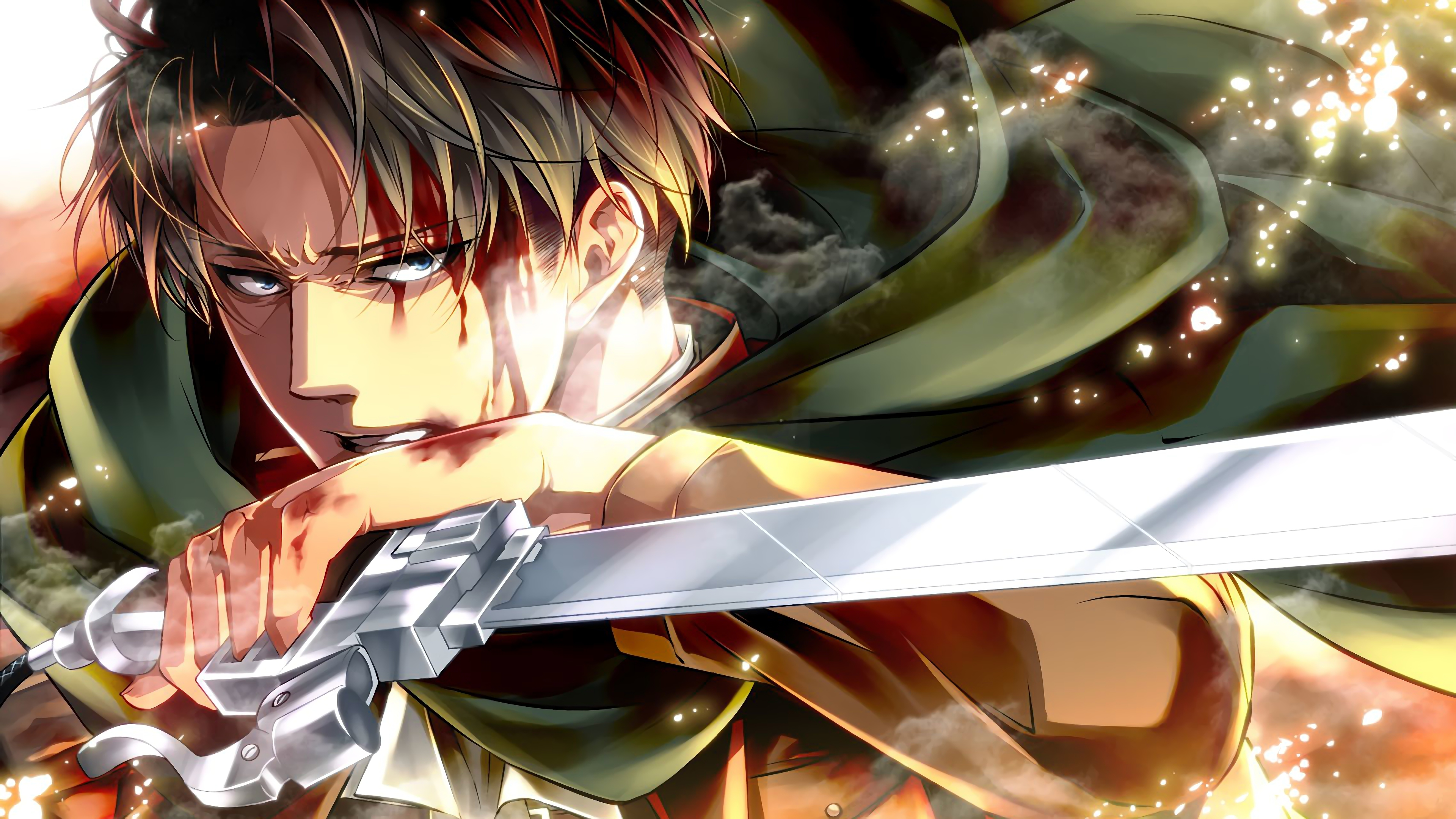 Attack On Titan 4k Ultra Hd Wallpaper Background Image 3840x2160 Id 937881 Wallpaper Abyss