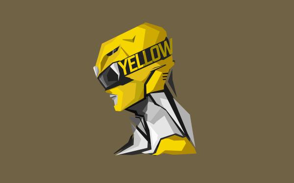 TV Show Power Rangers Yellow Ranger HD Wallpaper | Background Image
