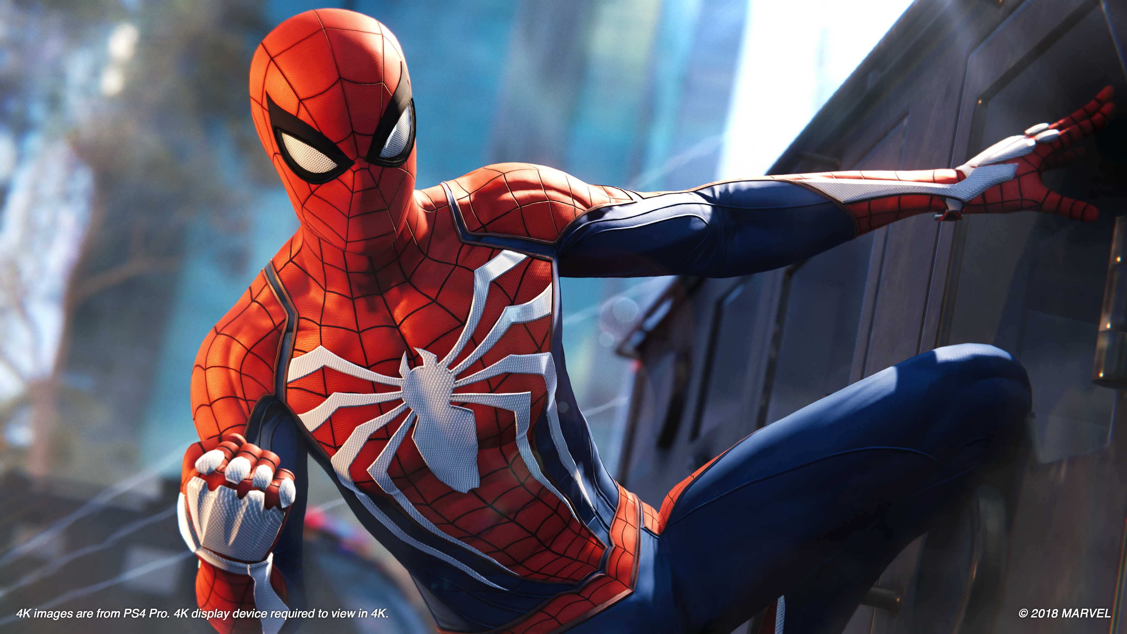 Spider Man Ps4 4k Ultra Fond D Ecran Hd Arriere Plan