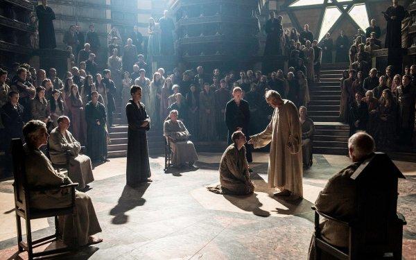 TV Show Game Of Thrones High Sparrow Lancel Lannister Loras Tyrell Finn Jones Eugene Simon Jonathan Pryce HD Wallpaper | Background Image
