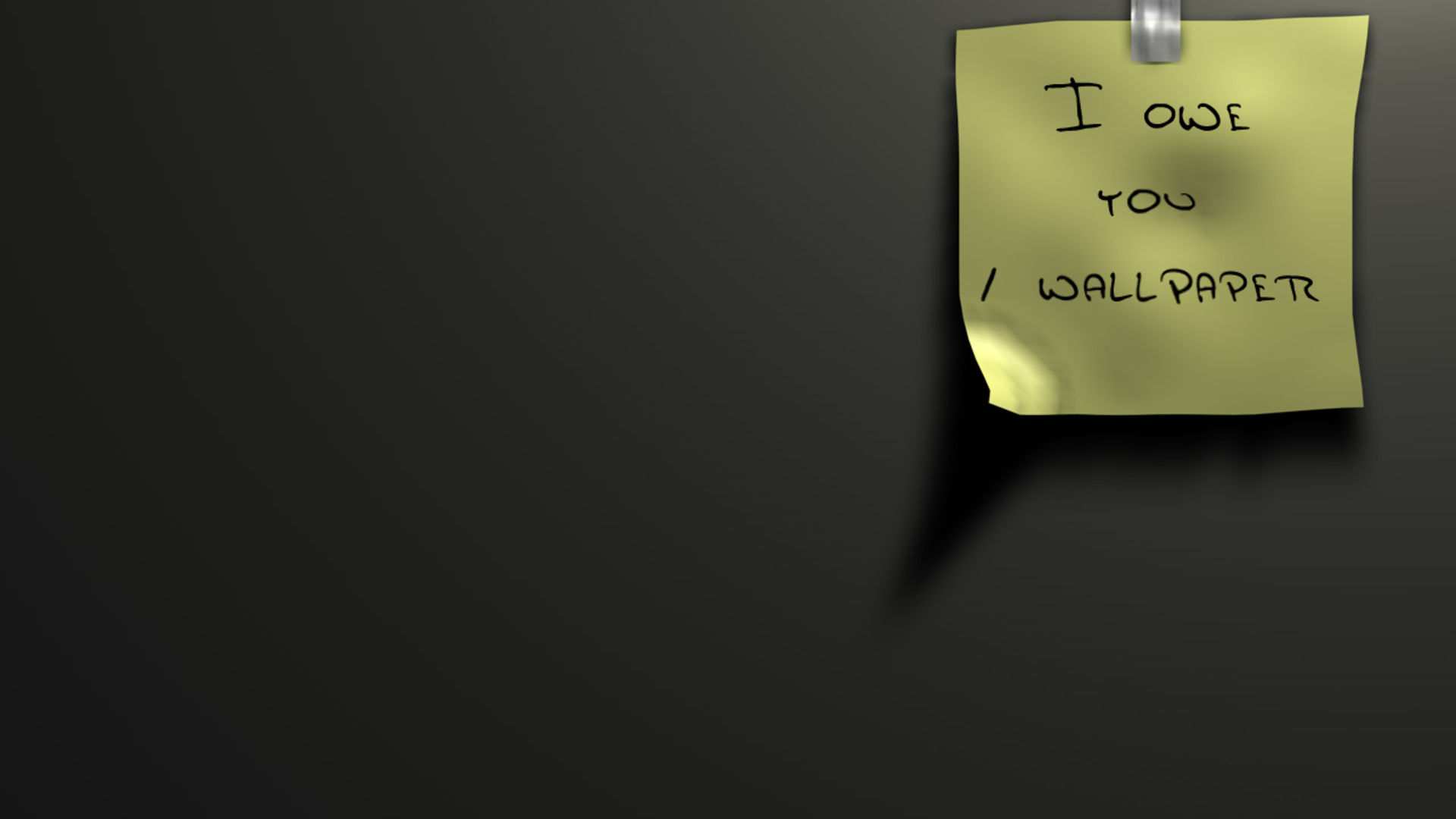 Humor - Witzig  Post It Wallpaper