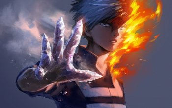 225 Shouto Todoroki Hd Wallpapers Background Images