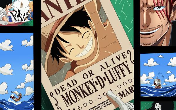 Anime One Piece Monkey D. Luffy Brook Shanks Tony Tony Chopper Sanji Nami Carrot HD Wallpaper   Background Image